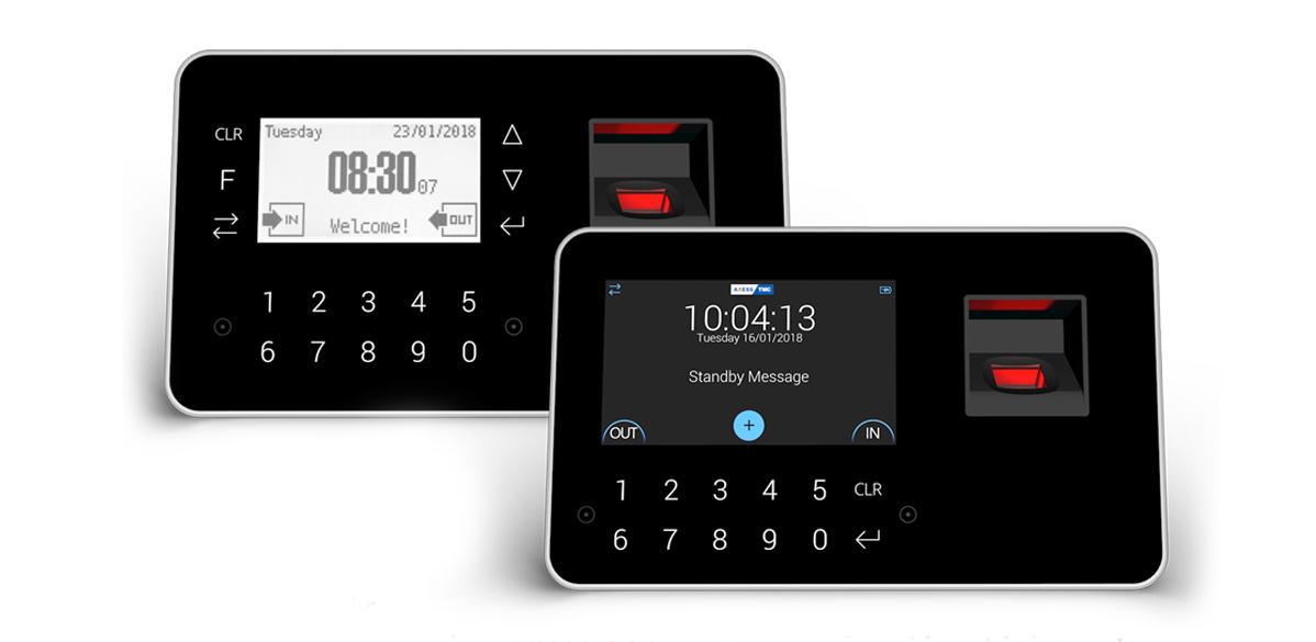 xbio family - terminals with integrated biometrics