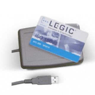 LuxtechPro RFID Card Reader I Code SLIX Library Tag Access Control Card Reader USB Interface ISO15693 Protocol